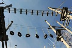 Adrenalinepark Stockbild