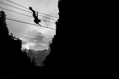 Adrenalinesport Stockfotografie