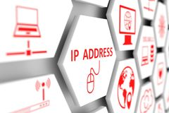 adres IP pojęcie ilustracji