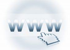 adres sieci Obrazy Stock