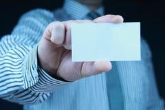 Adreskaartje Stock Foto
