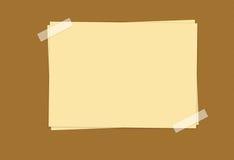 adreskaartje vector illustratie