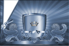 Adreskaartjemalplaatje. Royalty-vrije Stock Foto