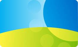 Adreskaartjemalplaatje Stock Afbeelding