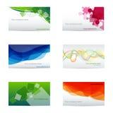 Adreskaartjes Stock Fotografie