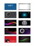 Adreskaartjes Stock Foto's