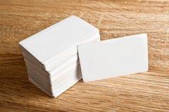 Adreskaartjes met rond gemaakte hoeken Stock Afbeeldingen