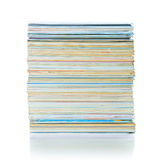 Adreskaartjes op de lijst Royalty-vrije Stock Foto