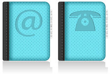 Adressbook, notebook, phonebook. Vector. Royalty Free Stock Photos