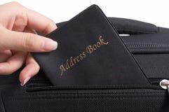 Adressbuch Lizenzfreies Stockbild