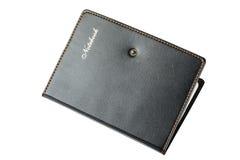 Adressbuch oder Tagebuch, ein großes, auf einem weißen Hintergrund Lizenzfreie Stockfotografie