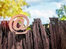 Adresse e-mail photo stock