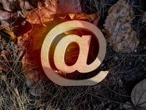 Adresse e-mail image stock