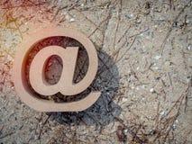 Adresse e-mail photographie stock