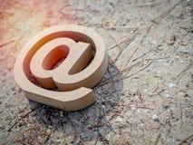 Adresse e-mail photographie stock libre de droits