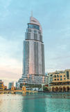 Adressen-Hotel Dubai Lizenzfreie Stockfotos