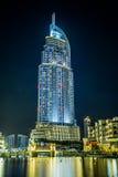 Adressen-Hotel im im Stadtzentrum gelegenen Dubai-Bereich übersieht das berühmte DA Lizenzfreies Stockbild