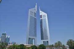 Adressen i stadens centrum Dubai Arkivbild