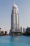 Adressen-im Stadtzentrum gelegenes Dubai-Hotel Stockfotografie