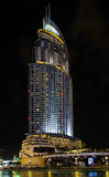 Adressenim stadtzentrum gelegenes burj Dubai Lizenzfreie Stockfotos