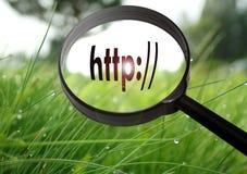 Adresszeile-HTTP Lizenzfreie Stockfotos
