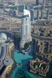 Adresu Highrise Hotelowy widok, Dubaj obrazy stock