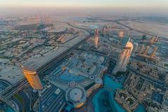 Adresu śródmieście Dubaj Obrazy Stock