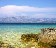 Adriático ve, Croatia Fotografía de archivo libre de regalías