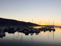 Adria Δαλματία της Κροατίας nihght Στοκ Φωτογραφία