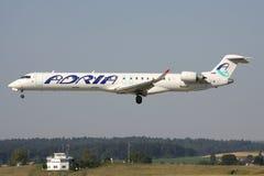 Adria Airways Bombardier CRJ900 foto de stock