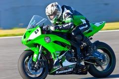 Adria Araujo Pilot von Cup Kawasaki-Ninja Lizenzfreie Stockbilder