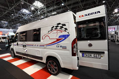 Adria GiT Le Mans Edition camper Royalty Free Stock Photos