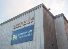 Adrian Boult Hall at Birmingham Conservatoire in Birmingham Stock Photography