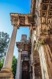 Adrian Gate, Antalya-oriëntatiepunt, Turkije Antieke bouw van marmer en royalty-vrije stock afbeelding