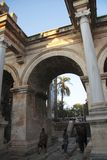 Adrian gates of old town Antalya Turkey. The Adrian gates of old town Antalya Turkey Stock Photo