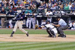 Free Adrian Gonzalez Padres Hitter Royalty Free Stock Images - 13165899