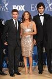 Adrian Grenier, Eva Longoria, Kevin Connolly Foto de archivo libre de regalías