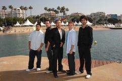 Adrian Grenier, Jeremy Piven, Jerry Ferrara, Kevin Connolly, Kevin Dillon, Jeremy Pivens Stockfotografie