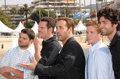 Adrian Grenier,Jeremy Piven,Jerry Ferrara,Kevin Connolly,Kevin Dillon,Jeremy Pivens Stock Images
