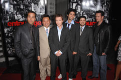 Adrian Grenier,Jeremy Piven,Jerry Ferrara,Kevin Connolly,Kevin Dillon,Rex Lee Royalty Free Stock Photos
