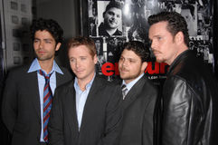 Adrian Grenier, Jerry Ferrara, Kevin Connolly, Kevin Dillon Stockfotos