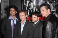 Adrian Grenier, Jerry Ferrara, Kevin Connolly, Kevin Dillon Fotografía de archivo
