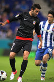 Adrian López de Atletico Madrid Imagen de archivo libre de regalías