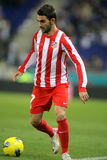 Adrian Lopez of Atletico Madrid Royalty Free Stock Images