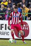 Adrian Lopez de Atletico de Madrid Fotografía de archivo libre de regalías