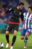 Adrian Lopez von Atletico Madrid Lizenzfreies Stockbild