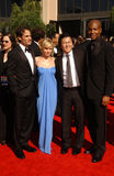 Adrian Pasdar, Kristen Bell, Masi Oka Fotos de archivo