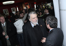 Adrian Paunescu Stockbild
