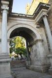 Adrian portar av den gamla staden Antalya Turkiet Royaltyfria Foton