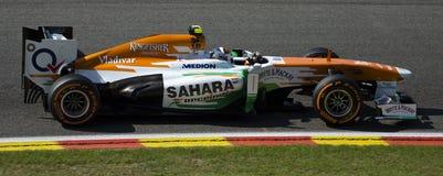 Adrian Sutil Force India Stockbilder